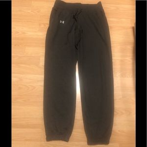 Women's Gray UA Sweatpants Size SM